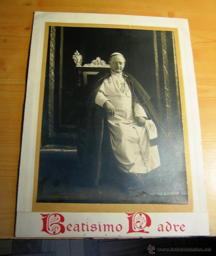 PAPA PIO XI- CONMEMORATIVA (Postales - Postales Temáticas - Religiosas y Recordatorios)