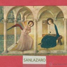 Postales: POSTAL RELIGIOSA-LA ANUNCIACIÓN- FIRENZE- MUSEO S. MARCO- PV.875. Lote 45734037
