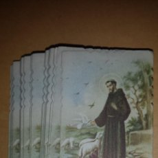 Postales: LOTE RECORDATORIOS IMAGENES RELIGIOSAS. Lote 45896162