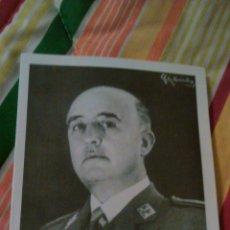 Postales: FRANCISCO FRANCO BAHAMONDE-ESQUELA EN EL XX ANIVERSARIO DE SU MUERTE.CON MENSAJE DE FIN DE AÑO 1959. Lote 183938865