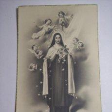 Postales: SANTA CON ANGELES . Lote 46042993