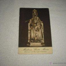 Postales: MADONA SANTA MARIA . PATRONA DE CERVERA . LERIDA. Lote 46136084