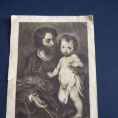 Postales: ESTAMPA RECORDATORIO ORDENACION SACERDOTAL Y PRIMERA MISA - MADRID 1955. Lote 46306792