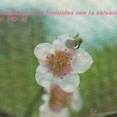 Postales: Nº 18315 POSTAL SALMO HERMOSEARÁ A LOS HUMILDES CON LA SALVACIÓN. Lote 46404075