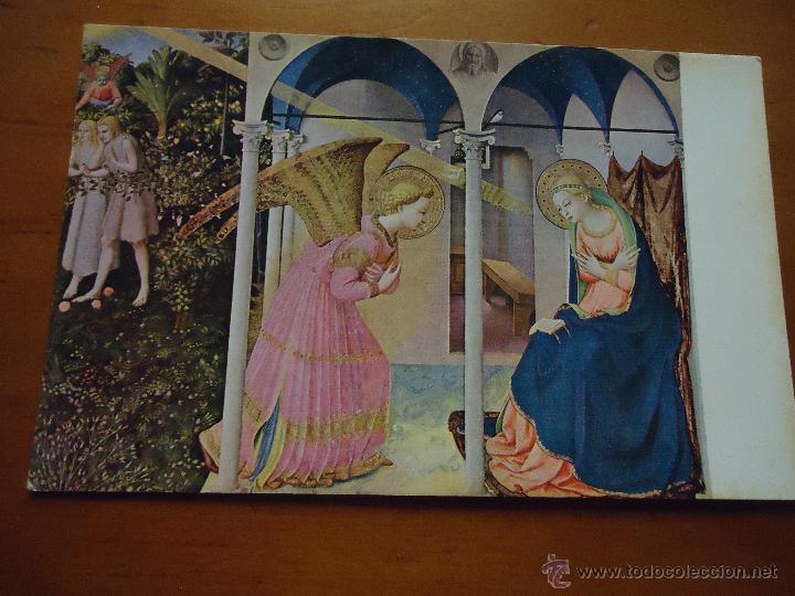 POSTAL RELIGIOSA MUSEO DEL PRADO , LA ANUNCIACION (Postales - Postales Temáticas - Religiosas y Recordatorios)