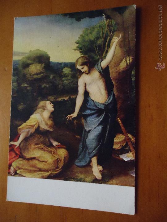 POSTAL RELIGIOSA MUSEO DEL PRADO , NOLI ME TANGERE (Postales - Postales Temáticas - Religiosas y Recordatorios)
