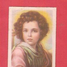 Postales: ESTAMPA RELIGIOSA BORDES DORADOS DETALLE EL DIVINO PASTOR MURILLO MUSEO DEL PRADO MADRID EST.821. Lote 46568974