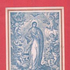 Postales: ESTAMPA RELIGIOSA HERMANDAD DE ABOGADOS PURÍSIMA CONCEPCIÓN-ILTRE.COL.ABOGADOS VCIA 1947 EST.834. Lote 46571229