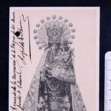 Postales: CORONACIÓN PONTIFICIA DE LA VIRGEN DE LOS DESAMPARADOS.MAYO 1923.CLICHÉ GARCIA.FOTOTIPIA THOMAS.BCN. Lote 46897456