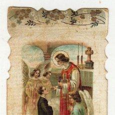 Postales: RECUERDO 1ª COMUNION MODERNISTA. 1914. Lote 47018411