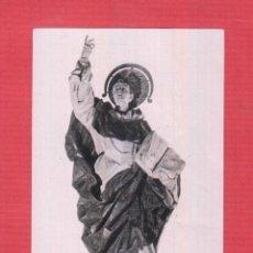 Postales: ESTAMPA RELIGIOSA-SAN VICENTE FERRER-SEGÚN SE VENERA EN SU CASA NATALICIA DE VALENCIA- EST.1130. Lote 47103479