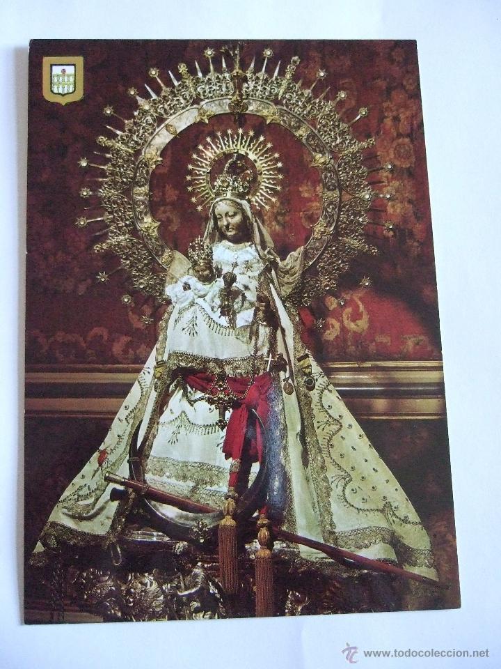 POSTAL VIRGEN - NUESTRA SEÑORA DE LA FUENCISLA - PATRONA DE SEGOVIA - ESCUDO DE ORO (Postales - Postales Temáticas - Religiosas y Recordatorios)