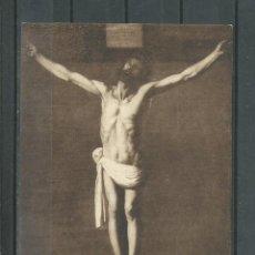 Postales: POSTAL DE JESUS CRICIFICADO DE ZURBARAN - MUSEO DE SEVILLA - SIN CIRCULAR . Lote 47111316