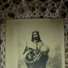 Postales: POSTAL RELIGIOSA ANTIGUA A ESTRENAR DE SAN FERNANDO / MB 138 BAÑERES. Lote 47129569