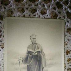 Postales: POSTAL RELIGIOSA ANTIGUA A ESTRENAR DE SAN PABLO APOSTOL / MB 259 BAÑERES. Lote 47130043