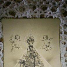 Postales: POSTAL RELIGIOSA ANTIGUA A ESTRENAR DE NUESTRA SEÑORA DE AFRICA - PATRONA DE CEUTA / MB 359 BAÑERES. Lote 96060258
