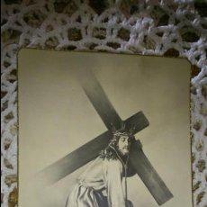 Postales: POSTAL RELIGIOSA ANTIGUA A ESTRENAR DE PADRE JESÚS DEL PERDON PATRON DE MANZANARES / MB 465 BAÑERES. Lote 194756148