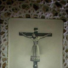 Postales: POSTAL RELIGIOSA ANTIGUA A ESTRENAR DE SANTÍSIMO CRISTO DE BURGOS / MB 487 BAÑERES. Lote 53216128