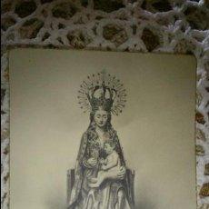 Postales: POSTAL RELIGIOSA ANTIGUA A ESTRENAR DE SANTA MARIA LA MAYOR PATRONA DE BURGOS / MB 489 BAÑERES. Lote 127119556