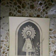 Postales: POSTAL RELIGIOSA ANTIGUA A ESTRENAR DE LA SANTA - SANTISIMA VIRGEN DEL PILAR / MB 1514 BAÑERES. Lote 47130664