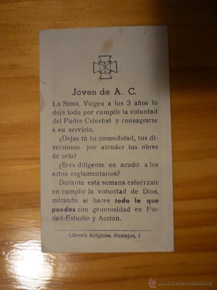 Postales: Estampa religiosa Regina Virginum - Foto 2 - 47255478