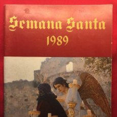 Postales: REVISTA SEMANA SANTA SANLUCAR AÑO 1989. Lote 48427500