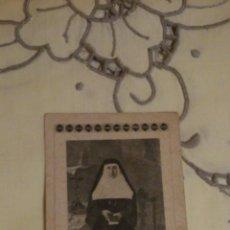 Postales: ESTAMPA RELIGIOSA ANTIGUA DE R.M. MARIA RAFOLS, FUNDADORA DE HH CARIDAD DE SANTA ANA / ZARAGOZA. Lote 47579975