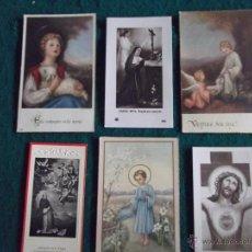 Postales: RELIGIOSAS-V27-RELIGIOSAS 2 -ESTAMPAS ANTIGUAS. Lote 47618561
