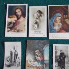 Postales: RELIGIOSAS-V27-RELIGIOSAS 2 -ESTAMPAS ANTIGUAS. Lote 47618577