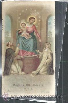 Tarjeta religiosa recordatorio regina ss rosar comprar postales tarjeta religiosa recordatorio regina ss rosarii virgen del rosario postales religiosas y thecheapjerseys Gallery