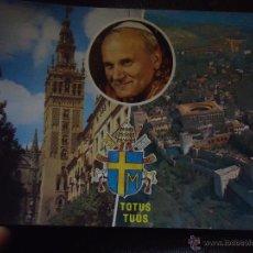 Postales: ANTIGUA POSTAL RELIGIOSA PAPA JUAN PABLO II , BARCELONA 2. Lote 47926974