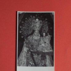 Postales: PEQUEÑA ESTAMPA FOTOGRAFICA DE NTRA. SRA, DE LOS DESEMPARADOS . Lote 47996043