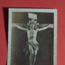 Postales: ANTIGUA ESTAMPA DEL SANTO. CRISTO DE LA AGONIA DE LIMPIAS . Lote 47996545