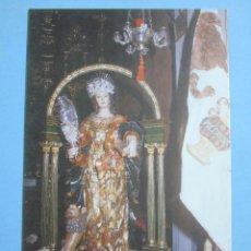 Postales: POSTAL RELIGIOSA SEMANA SANTA. VIRGEN Y MARTIR SANTA EUFEMIA PATRONA. 896. Lote 48006919