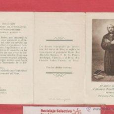 Postales: ESTAMPA RELIGIOSA-CASIMIRO BARELLO MORELLO-PENITENTE TERCIARIO FRANCISCANO-EST.1523. Lote 48016043