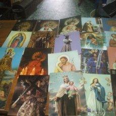 Postales: LOTE DE 20 POSTALES RELIGIOSAS. Lote 48206713
