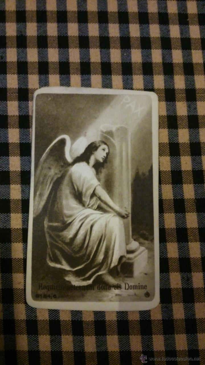 ESTAMPA RELIGIOSA ANTIGUA DE SAN MIGUEL ARCÁNGEL / BARCELONA BAÑERES MB 3154/6 OFERTA (Postales - Postales Temáticas - Religiosas y Recordatorios)