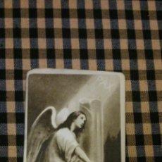 Postales: ESTAMPA RELIGIOSA ANTIGUA DE SAN MIGUEL ARCÁNGEL / BARCELONA BAÑERES MB 3154/6 OFERTA. Lote 131294454