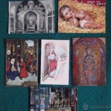 Postales: RELIGIOSAS-V30-VARIOS-NATIVIDAD-MONACO-MADONNA-ROMA-CHAPELLE DE LA MEDAILLE MIRACULEUSE. Lote 48361638