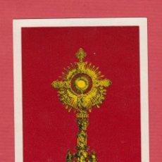 Postales: ESTAMPA RELIGIOSA-CUSTODIA SANTISIMO SACRAMENTO DE ALGEMESÍ-VIGILIA PENTECOSTÉS-EST.1887. Lote 48375808