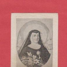 Postales: ESTAMPA RELIGIOSA-STA.Mª MICAELA DEL SANTÍSIMO SACRAMENTO-EST.1914. Lote 48393886