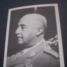 Postales: ESQUELA RECORDATORIO DEL XII ANIVERSARIO DE LA MUERTE DE FRANCISCO FRANCO. Lote 48547161
