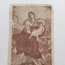 Postales: ESTAMPA VIRGEN INMACULADA CONCEPCION 1945 PATRONA DE LA ORDEN FRANCISCANA. Lote 48782359