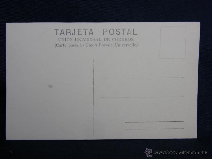 Postales: cura parroco sacristán despacho pluma cruz libros buró cilindro dividida sin circular ppio s XX - Foto 2 - 48916120