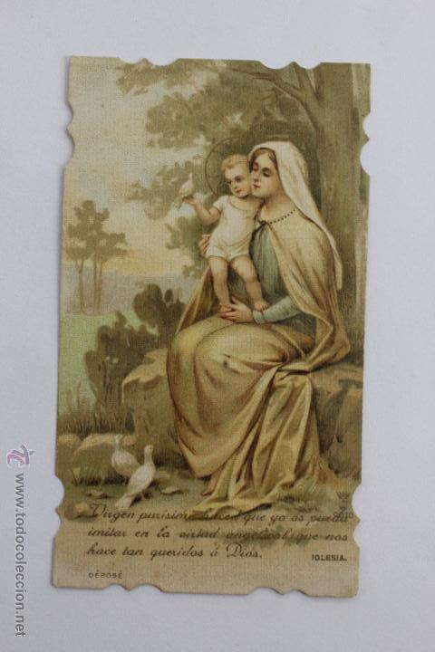 Postales: P-986. TRES ESTAMPAS VIDA DE JESUS DEL MISMO TIPO. AÑOS 20-30. - Foto 4 - 48916330