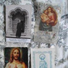 LOTE ANTIGUOS RECORDATORIOS RELIGIOSOS