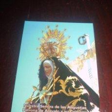 Postales: ESTAMPA NTRA.SRA. DE LAS ANGUSTIAS AREVALO AVILA. Lote 48933983