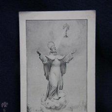 Postales: RECUERDO SEPTIMO CENTENARIO VENIDA SAN FRANCISCO TERCIARIOS ORACION SAN PASCUAL BAILÓN PATRÓN 1914. Lote 49077888