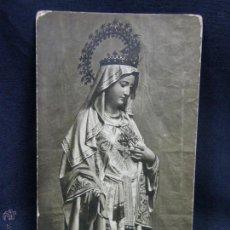 Cartes Postales: POSTAL VIRGEN SAGRADO CORAZÓN. Lote 49079823