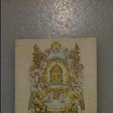 Postales: LIBRETO / LIBRILLO RELIGIOSO ANTIGUO: PROMOCIÓN DE LA PUERTA DEL CIELO POR H. KAUTZ, BARCELONA. Lote 49146702